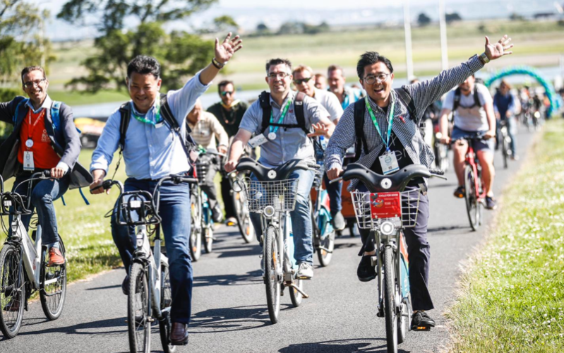 Dublin is hosting an international cycling conference and some delegates have called the city 'a brutal street battle'