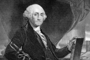 Everyone loved George Washington, until he became president