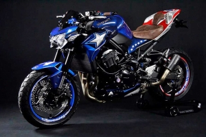 Das Superhelden-Superbike - Kawasaki Z 900 Captain America