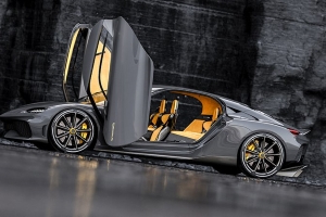 The 1,700-hp Koenigsegg Gemera hybrid has two more seats than any Bugatti