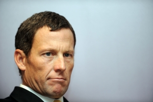 Lance Armstrong says in film that stepfather 'beat the (expletive) out of me'