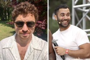 Bon Appétit 'Test Kitchen' star Andy Baraghani calls out Alex Delany for a resurfaced Vine that includes a homophobic slur