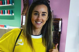 Peter Andre's wife Emily just rocked the yellow tracksuit we didn't know we needed