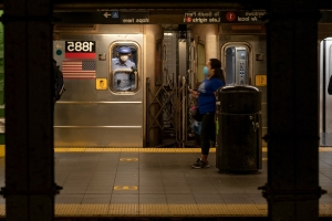 Subway Train Derails in New York City After Saboteur Reportedly Throws Debris Onto Tracks