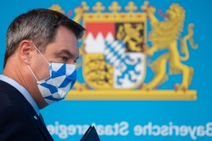 Bavarian premier warns of risk of mass infection at Super Cup