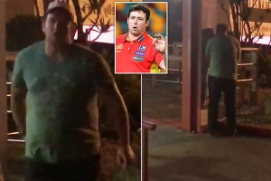 Footy coach is latest AFL star to land in hot for URINATING in public