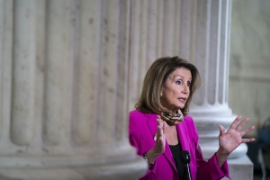 Pelosi's Funding Bill Lacks GOP Farm Aid, Raising Shutdown Risk