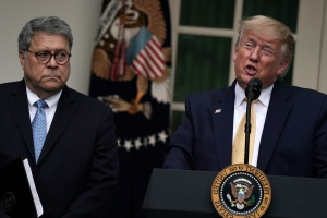 Bill Barr has 'brought shame' on the Justice Department, says US prosecutor