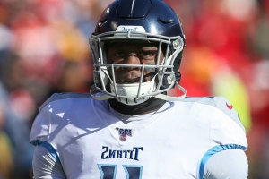 Titans' Brown ruled out vs. Vikings