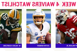 Fantasy Football Waiver Wire Watchlist for Week 4: Streaming targets, free agent sleepers include Jeff Wilson Jr., Justin Herbert, Marquez Valdes-Scantling