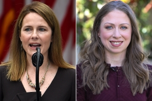 Chelsea Clinton, Whose Dad Nominated Ruth Bader Ginsburg, Opposes Amy Coney Barrett as RBG Replacement