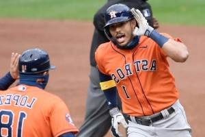 Carlos Correa Is Fully Embracing the Villain Role After Astros Win Wild Card Series