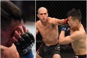 Brian Ortega produced a Muay Thai masterclass to dominate Korean Zombie and steal the show on Fight Island
