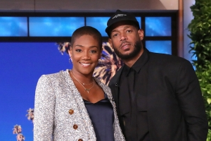 Tiffany Haddish Welcomes Marlon Wayans While Filling In As Guest-Host On 'Ellen'